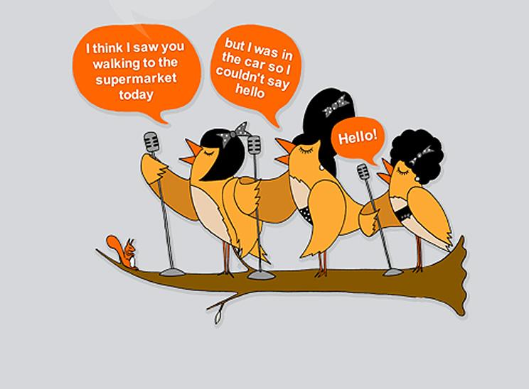 Singing Tweetagrams